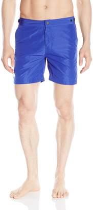 Sundek Men's Classic 16 Inch Adjustable Waistband Swim Short