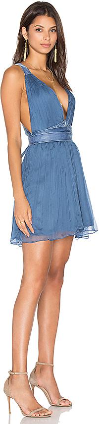 MAJORELLE April Dress in Blue 3