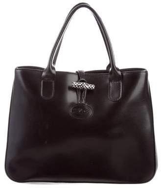 Longchamp Small Roseau Tote - BLACK - STYLE