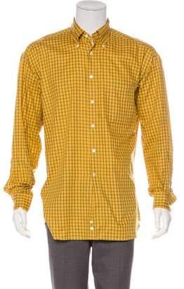 Gucci Gingham Print Shirt