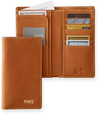 Mark And Graham Leather Checkbook Wallet