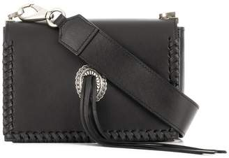 DSQUARED2 whipstitch trim crossbody bag