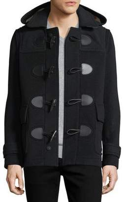 Burberry Plymouth Toggle-Front Wool-Blend Coat