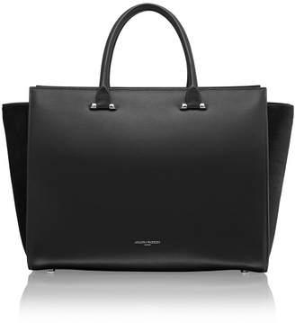 Amanda Wakeley Eastwood Black Pony Handbag