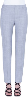 Akris Melvin Double Face Wool & Silk Pants