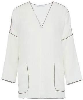 Max Mara Duero Linen-Gauze Tunic