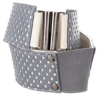 Lela Rose Perforated Waist Belt