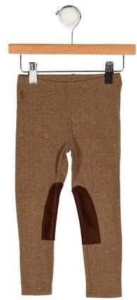 Boys' Herringbone Knit Leggings