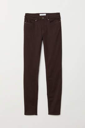 H&M Super Slim-fit Pants - Brown