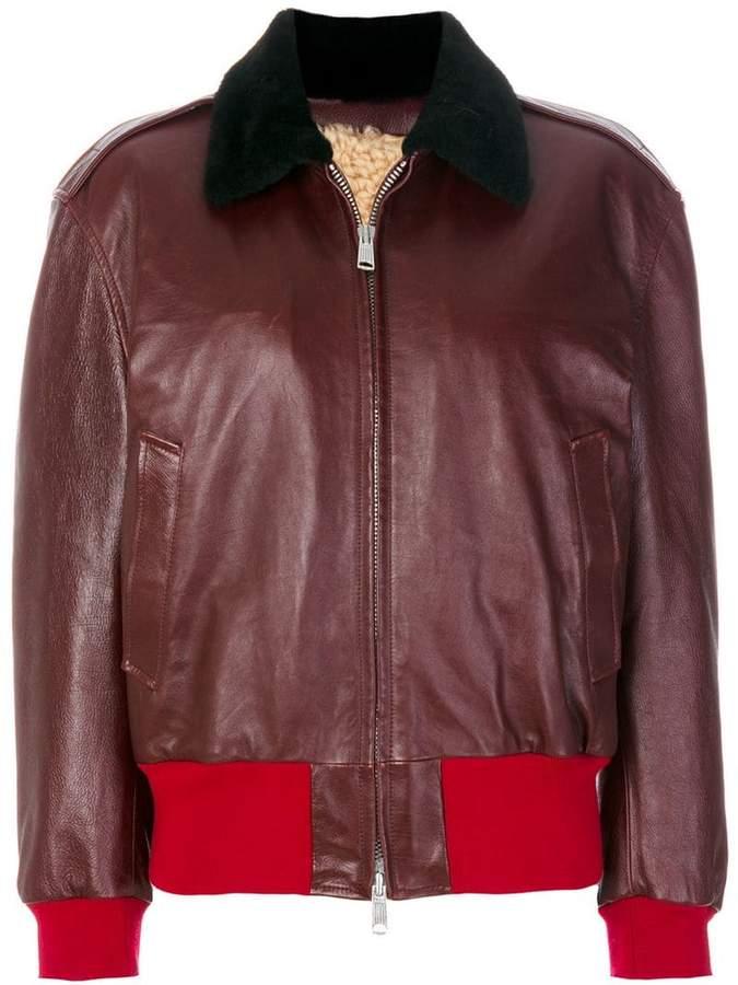 Calvin Klein 205W39nyc colour block zip jacket