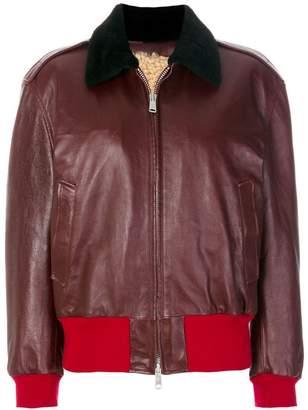 Calvin Klein colour block zip jacket