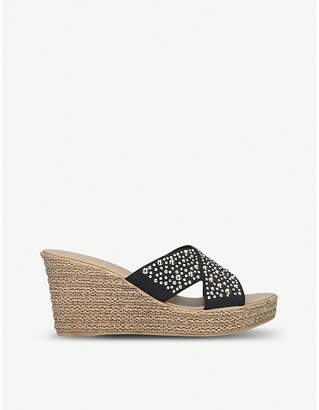 be105dba80f8 Carvela Comfort Stephanie woven wedge sandals
