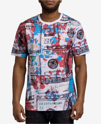 Hudson NYC Men's Painted Money T-Shirt