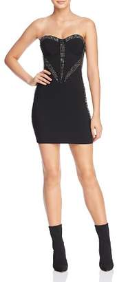 GUESS Lucia Strapless Body-Con Dress