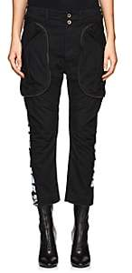 "Faith Connexion Women's ""New York"" Cotton Cargo Pants - Black"