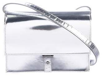 Pb 0110 Metallic Flap Shoulder Bag