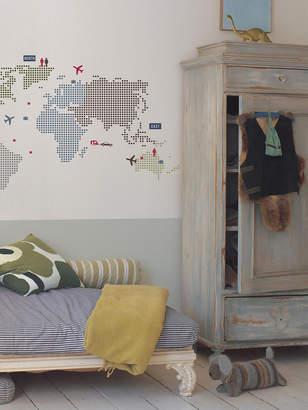 RoomMates ワールドマップ ウォールステッカー