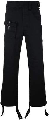 Maison Margiela straight leg trousers