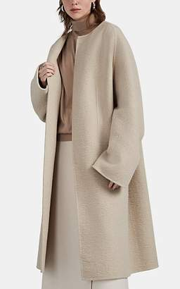 The Row Women's Laurence Mélange Cashmere Belted Coat - Beige, Tan