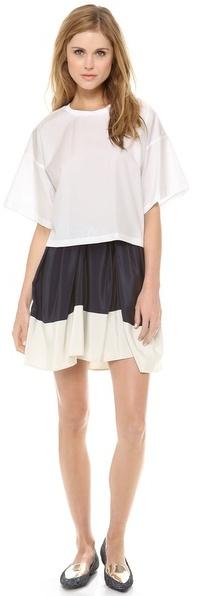 3.1 Phillip Lim Pleated Umbrella Skirt
