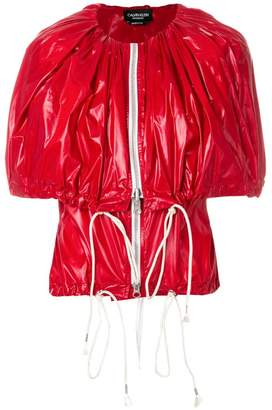 Calvin Klein zip-up cape jacket
