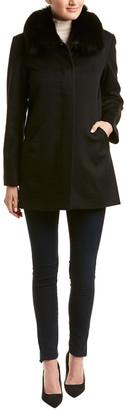 Sofia Cashmere sofiacashmere Sofiacashmere Wool-Blend Car Coat