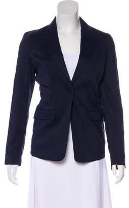 Burberry Long Sleeve Wool Blazer