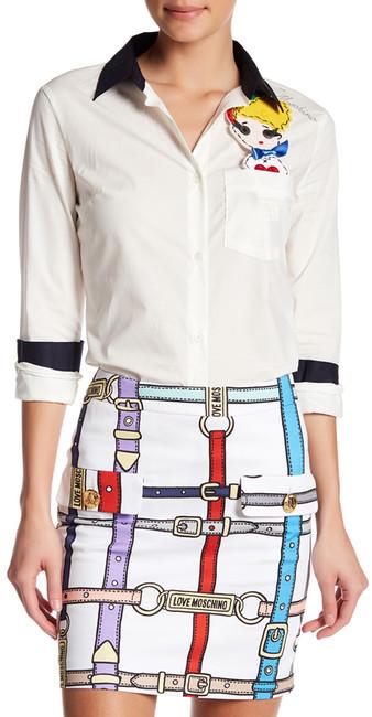 Love MoschinoLOVE Moschino Pocket Friend Shirt
