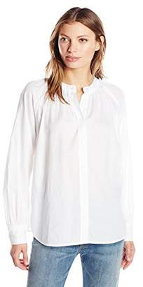 Vince Women's Soft Pleated Blouse,M