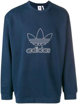 adidas Outline crewneck sweatshirt