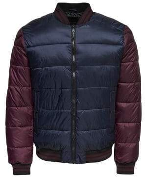 ONLY & SONS Quilted Bomber Jacket