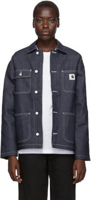 Carhartt Work In Progress Blue Denim Michigan Jacket