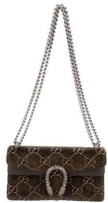 Gucci 2018 GG Velvet Small Dionysus Bag
