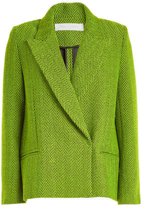 Victoria Beckham Victoria Cropped Wool Coat