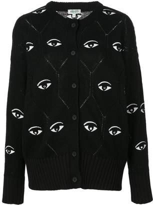 Kenzo eye motif cardigan