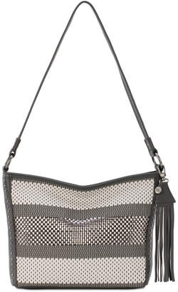 The Sak Indio Woven Leather Hobo