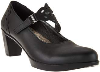 Naot Footwear Leather Mary Jane Pumps - Amato
