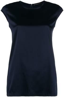Fabiana Filippi cap-sleeve blouse