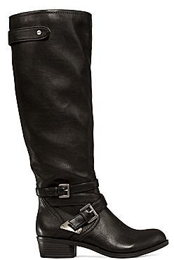 JCPenney a.n.a Denton Strap-Detailed Tall Womens Boots