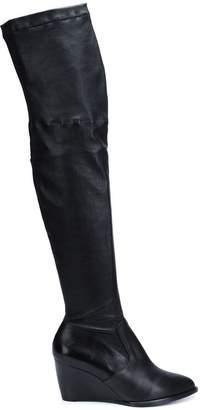 Robert Clergerie thigh-high wedge boots