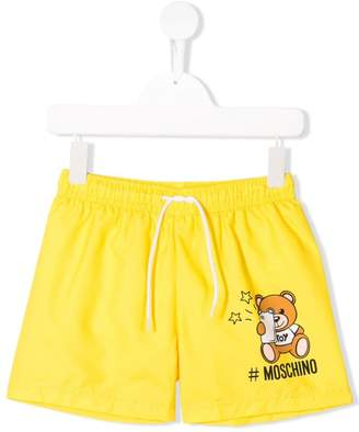 Moschino Kids Teddy Bear shorts