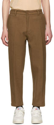 Dickies Construct Brown Wool Trousers