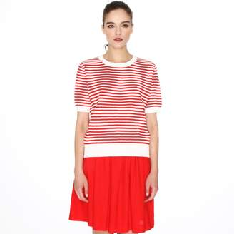 PepaLoves Short-Sleeved Striped Jumper