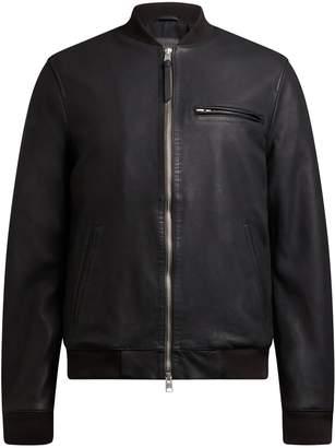 AllSaints Men's Ellison Leather Bomber Jacket