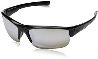 Under Armour Ua Propel Shiny Black Frame/Gameday/Chrome Multiflection Lens Wrap Sunglasses