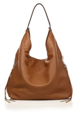 Rebecca Minkoff Bryn Double-Zip Leather Hobo Bag $295 thestylecure.com