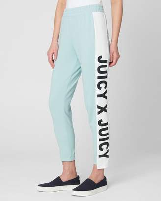 Juicy Couture JXJC Side Panel Terry Track Pant