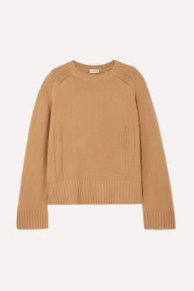 By Malene Birger Sullie Wool-blend Sweater - Camel
