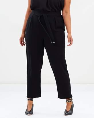 Curve Woven Jogger Pants