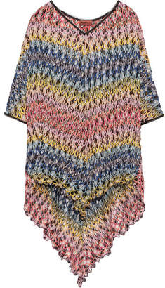 Missoni Mare Crochet-knit Kaftan - Pink